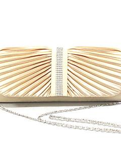 Elegant Polyester med Crystals Evening Handbag / Top Håndtak Bag (Flere farger)