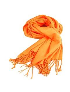 Châles Echarpes Cashmere imitation Orange Soirée
