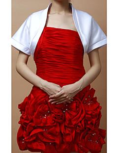 멋진 짧은 소매 새틴 특별한 날 저녁 재킷 / 결혼식 랩 (더 색) 볼레로 어깨를 으쓱