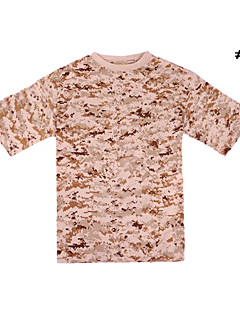 Military 100% Cotton Camouflage T-shirt