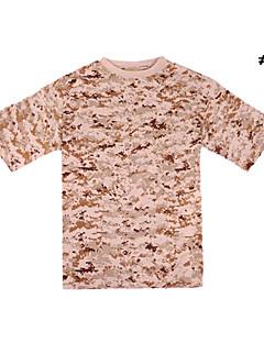 vojenská 100% bavlna maskování t-shirt