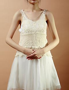 Sleeveless Cotton Casual/Party Evening Jacket/Wrap Bolero Shrug