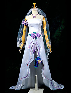 Inspired by Macross Frontier Sheryl Nome Anime Cosplay Costumes Cosplay Suits Patchwork White Top