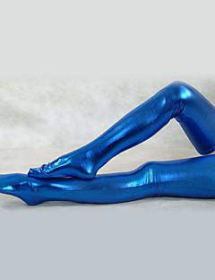 Sininen Kiiltävä Metallic Sukkahousut (2 kpl)
