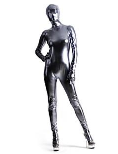 Hopea Spandex Shiny Metalliväri Zentai Suit