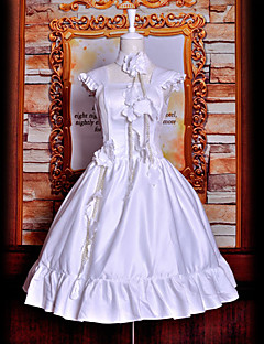 косплей костюм вдохновлен Tsubasa: Reservoir Chronicle иллюстрации окончательный об. Сакура белом платье