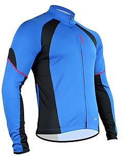 Top / Jersey - Ciclismo - Per uomo - Maniche lunghe - Traspirante / Permeabile all'umidità / Asciugatura rapida Primavera / EstateElevata