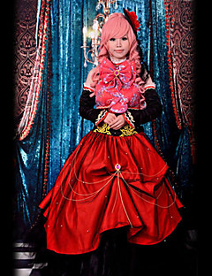 Inspired by Vocaloid Megurine Luka Video Game Cosplay Costumes Cosplay Suits Patchwork Red Top
