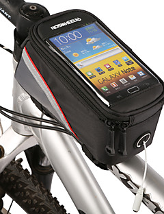 ROSWHEEL® Bike BagCell Phone Bag / Bike Frame Bag Waterproof Zipper / Water Bottle Pocket / Dust Proof / Touch Screen / Phone/Iphone