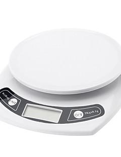 3kg/0.1g elektronikus konyhai mérleg (2 db AAA méretű)