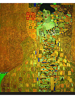 Sig.ra Adele Bloch-Bauer 1907 da Gustav Klimt Famosa Stampa trasferimenti su tela