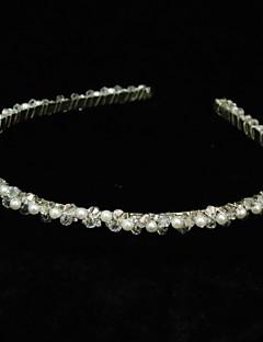 Women's Rhinestone Alloy Imitation Pearl Headpiece-Special Occasion Headbands