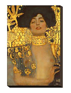 Giuditta I., 1901 da Gustav Klimt Famosa Stampa trasferimenti su tela