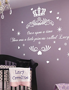 Once upon a Time prinsesse Name Wall Sticker