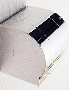 """Suporte para Papel Higiênico Aço Inoxidável De Parede 120 x 123 x 125mm (4.7 x 4.8 x 5"""") Aço Inoxidável Contemporâneo"""