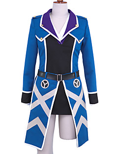 Inspired by K Awashima Anime Cosplay Costumes Cosplay Suits Patchwork Blue Top
