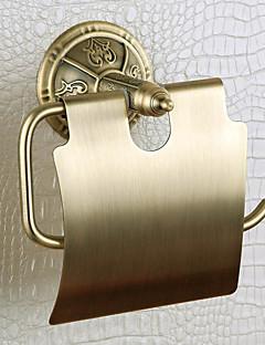 toiletpapir rack, messing, venetiansk bronze