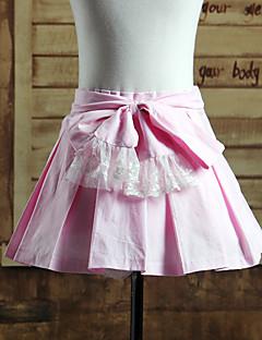 Saia Doce Lolita Cosplay Vestidos Lolita Cor Única Lolita Comprimento Curto Saia Para Algodão