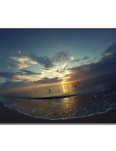 Printed Canvas Art Landscape Cypress Sunrise II by Sebastien Lory with Stretched Frame
