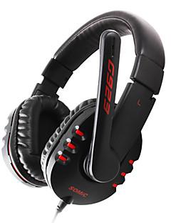 somic G923 en auriculares con micrófono, control remoto para PC