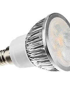 4W E14 Spot LED MR16 4 LED Haute Puissance 360 lm Blanc Chaud Gradable AC 100-240 V