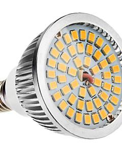 E14 6W 48x2835SMD 580-650LM 2700-3500K Warm White Light LED spot pære (110-240V)