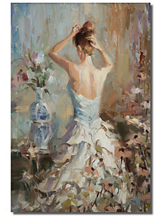 Stretched Canvas Art People Lady by Steve Henderson