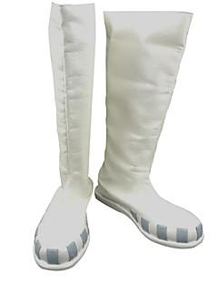 מגפי קוספליי קוספליי Tsubaki Nakatsukasa אנימה נעלי קוספליי לבן נקבה