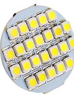 daiwl g4 1.5w 24xsmd3528 90-110lm 6000-6500k lumière blanche naturelle conduit ampoule spot (12v)