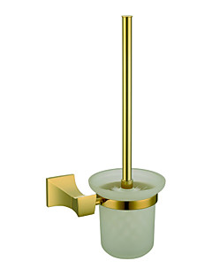 Antique Wall-mounted Toilet Brush Holder - Ti-PVD Finish