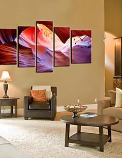 Reproduction transférée sur toile art abstrait Sight Set de 5