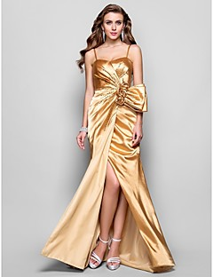 TS Couture® Prom / Formal Evening / Military Ball Dress - Open Back Plus Size / Petite A-line / Princess Sweetheart / Spaghetti Straps Floor-length