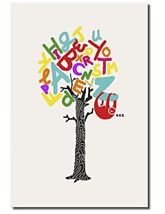 Op gespannen doek Art Woorden Zzzzz door Budi Satria Kwan