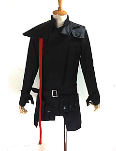 Inspired by Guilty Crown Tsutsugami Gai Anime Cosplay Costumes Cosplay Suits Patchwork Black Long Sleeve Coat / Bag