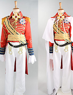 Cosplay Costumes / Party Costume Deluxe Prince William Red Satin Royal Costume