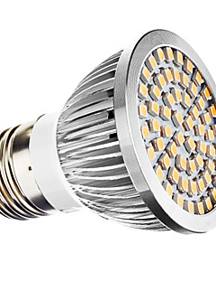 3W E26/E27 Spot LED MR16 60 SMD 3528 240 lm Blanc Chaud AC 110-130 / AC 100-240 V