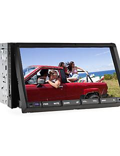 "2 DIN 7 ""LCD-Touchscreen im Armaturenbrett Auto-DVD-Spieler mit Bluetooth, RDS, iPod-Eingang, Stereo-Radio, ATV"