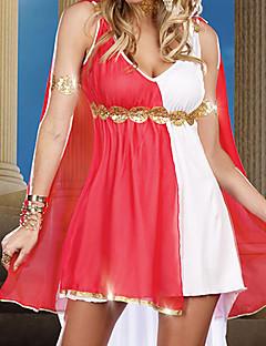 Deusa de Olímpia Branco Spandex Mulheres Halloween Costume