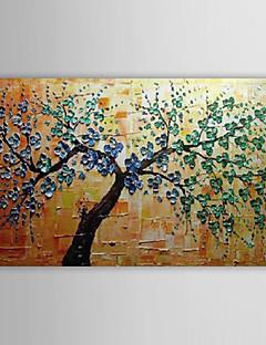 öljymaalaus kukka puu venytetty runko 1311-fl1144 käsin maalattu kangas