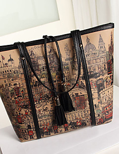 Vintage Casual Message Tote