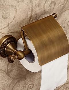 Antique Creative Laiton Matériau Support de papier hygiénique