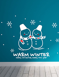 Holiday Chrismas in Warm Winter Wall Stickers