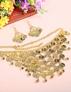 Performance Alloy Belly Dance Headpiece With Coins For Ladies(More Colors)