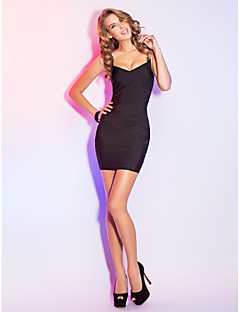 Sheath/Column Straps Short/Mini Grace Bandage Dress