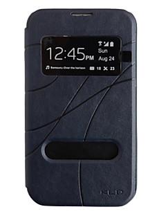 Skylight konkave og konvekse Texture Læder Taske til Samsung Galaxy Note 2 N7100 (assorteret farve)