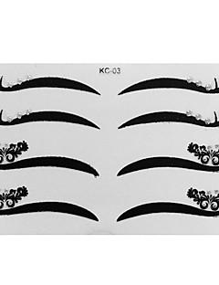4. Par Eyeliner naljepnica sa dijamanata šminka