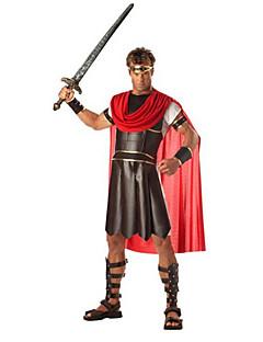 Traje de Halloween dos homens Hércules Preto Poliéster