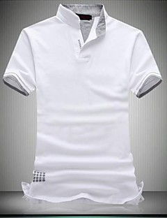 Men's Hot Selling Fashion Short Sleeve Big Size Polo T-shirt