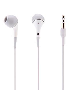 In-Ear-hörlurar för telefoner (vit)