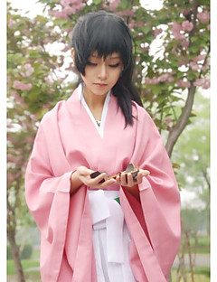 Inspired by Cosplay Chizuru Yukimura Video Game Cosplay Costumes Cosplay Suits / Kimono Solid Pink Top / Pants / Belt
